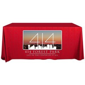 Exclusive 6' Flat Dye Sublimation ValuTex� Table Cover (132
