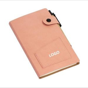 Multi-Function PU Leather Notebook