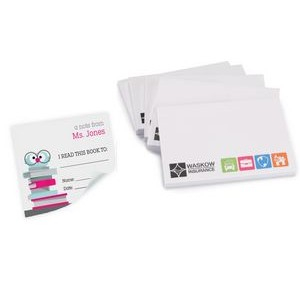 Long Run Full Color 25 Sheet Post-it� Notes (4