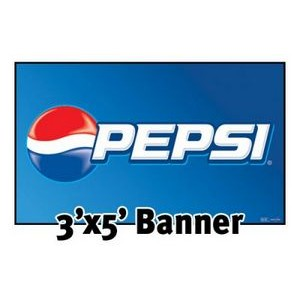 Rush 24 Hour Full Color Banner 3'x5' - Vinyl